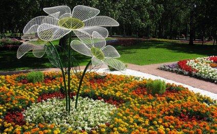 Садовые композиции способны