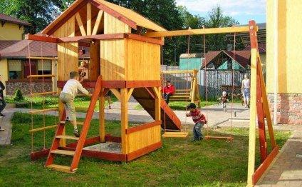 игровая площадка на даче
