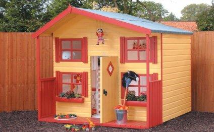 Красочный домик для
