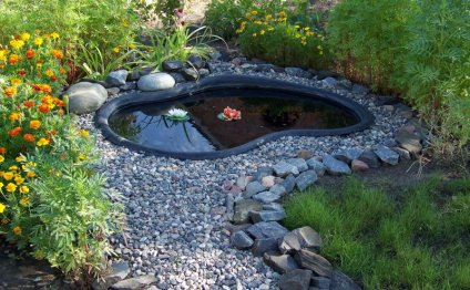 Вода из готовых конструкций на