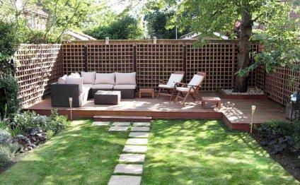 Уголки для отдыха в саду