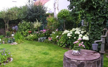 Ландшафтный дизайн садовых