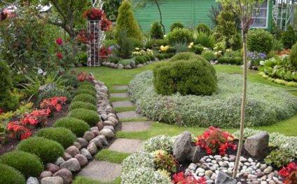 Садовые тропинки на участке