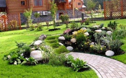Ландшафтный дизайн на даче с