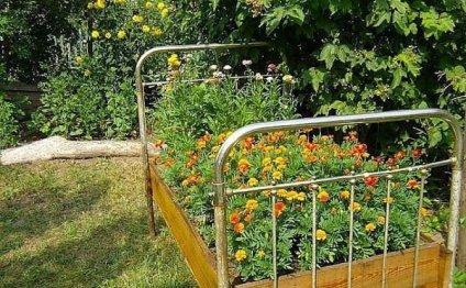 Овощная клумба-спираль