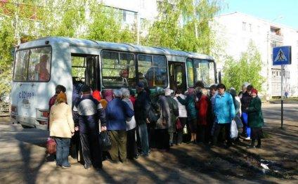 автобусов в сады-огороды
