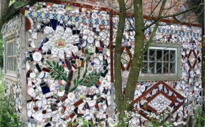 Как украсить сад и дом
