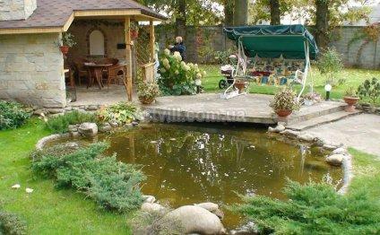 Садовый пруд — изюминка