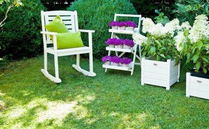 Зоны отдыха для сада и дачи